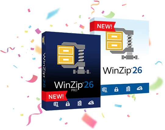 Introducing the all-new WinZip 26